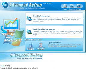 Advanced Defrag 2011 5.0