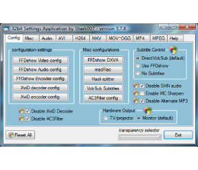 Vista Codec Package 5.9.7