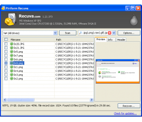 Recuva Portable 1 46 919 - Download :: PCFoster pl