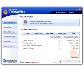 ThreatFire (formerly Cyberhawk) 4.10.1.14