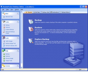 ShadowProtect Desktop Edition 5.04