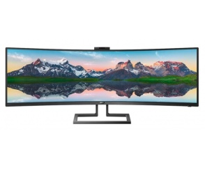 Philips 499P9H – ultraszeroki monitor Dual Quad HD w formacie 32:9