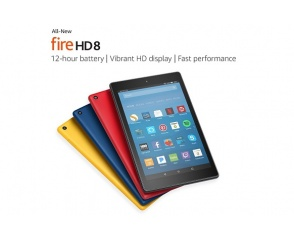 Tablety Fire 7 i Fire HD 8 od Amazona
