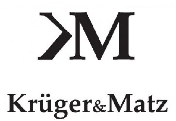 Znalezione obrazy dla zapytania Kruger&Matz logo