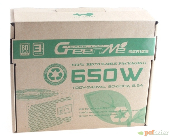 In Win GreenMe 650 W