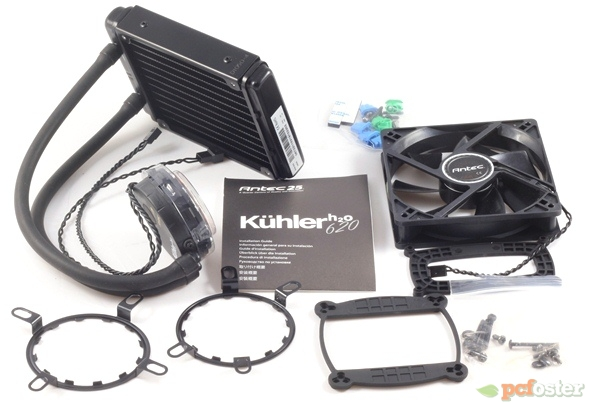 antec kuhler h2o 620 manual