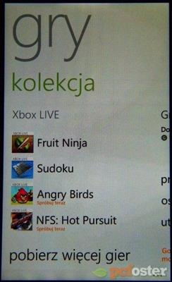 Nokia Lumia 610 - test smartfonu - Aplikacje :: PCFoster.pl