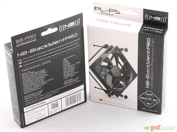 Prolimatech Black Series MK-26 - BlackSilent Pro 120 Edition