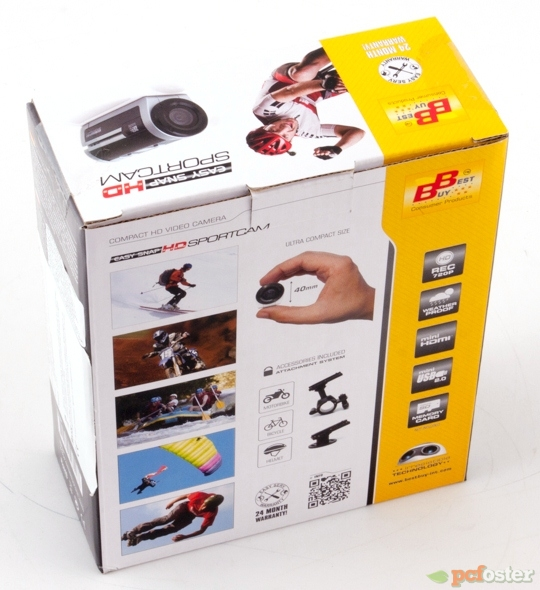Easy Snap HD Sportcam