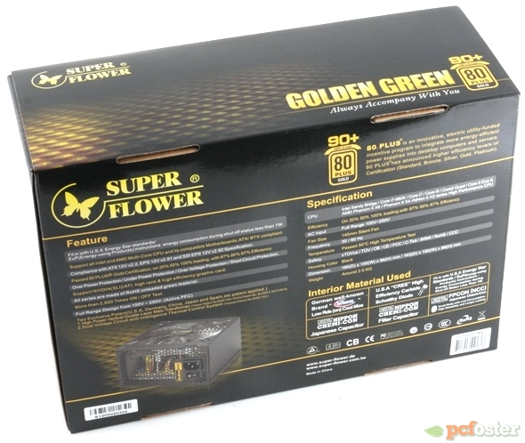 Super Flower Golden Green 550 W