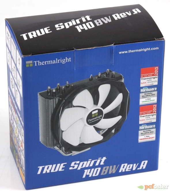 Thermalright True Spirit 140 BW Rev. A